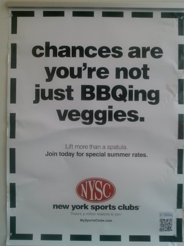 Sign up to the Gym if you Don't Grill Vegetables!