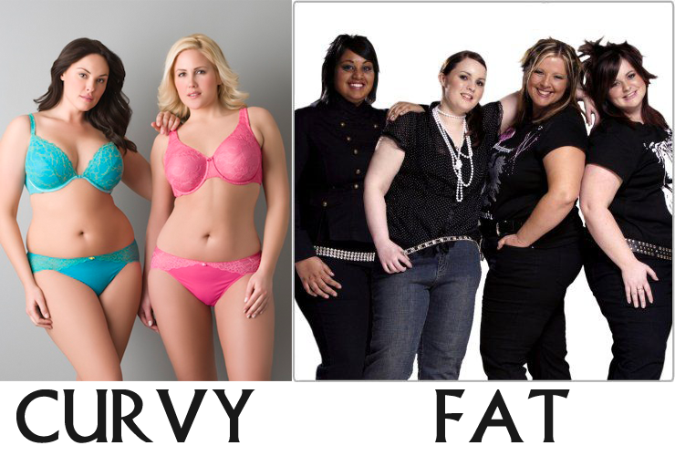 Curvy people