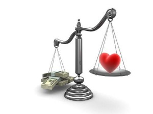 What's More Important, Love or Money?